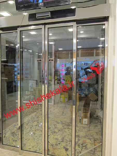 اجرای انواع درب اتوماتیک شیشه ای