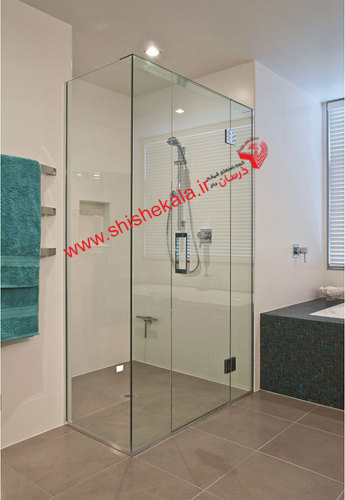 شیشه دوردوشی حمام