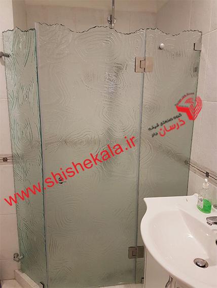 شیشه حمام