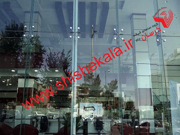 نمای شیشه ای اسپایدری