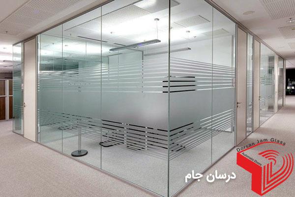 پارتیشن شیشه ای | پارتیشن اداری نصب فوری