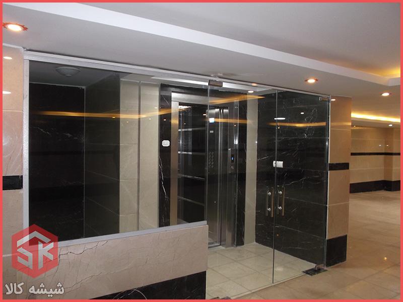 دودبند شیشه ای | دوربند ساختمانی