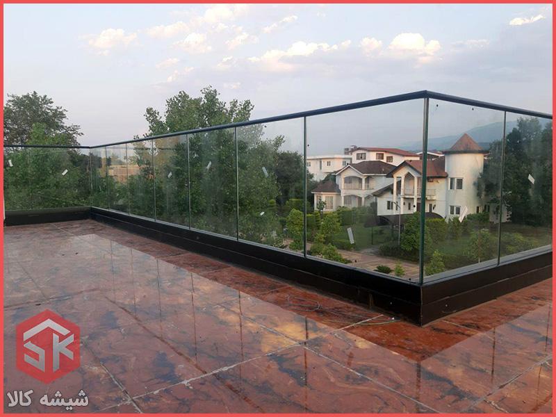 جانپناه شیشه ای پروژه ۱