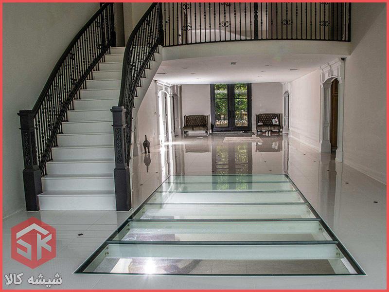 سقف شیشه ای | کف شیشه ای