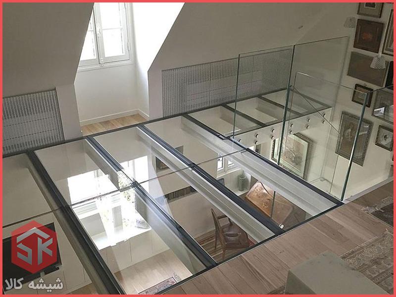 سقف و کف شیشه ای
