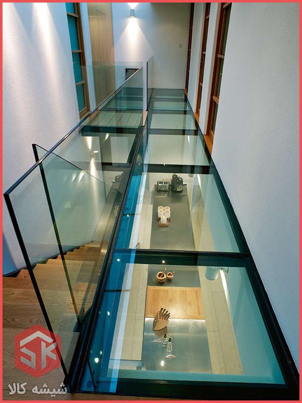 کف و سقف شیشه ای