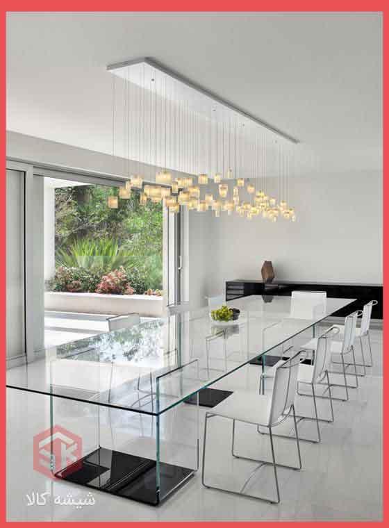 انواع میز شیشه ای