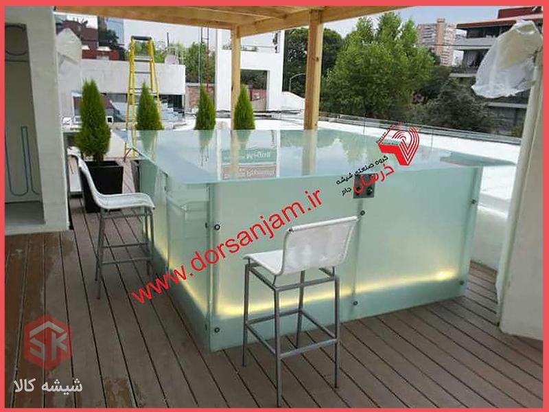میز شیشه ای | انواع میز شیشه ای