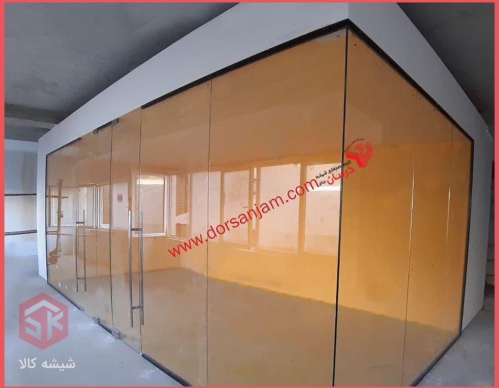 پارتیشن-شیشه-ای-دوجداره-نیاوران